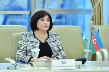 Спикер Милли Меджлиса Сахиба Гафарова совершит визит в РФ