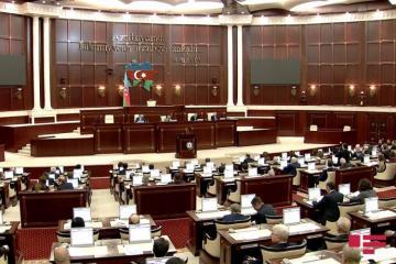 Началось заседание Милли Меджлиса, обсуждается законопроект «О Дне Независимости»