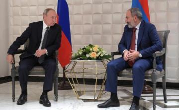 Путин проведет переговоры с Пашиняном