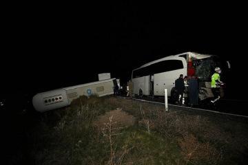 В Турции два автобуса со школьниками попали в ДТП, ранены более 40 детей