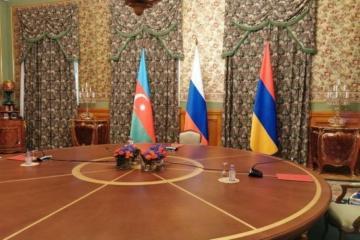 Russian, Azerbaijani, Armenian FMs held trilateral meeting in Minsk