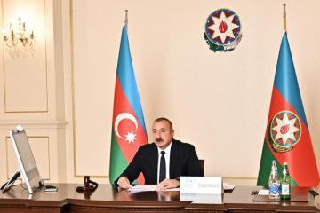Президент Ильхам Алиев: В городе Шуша Арменией разрушены 16 из 17 существовавших до оккупации мечетей