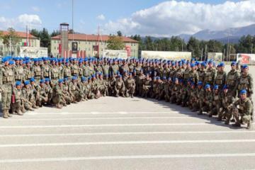 В Турции состоялась церемония выпуска участвовавших в курсах азербайджанских военнослужащих