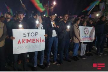 В Гяндже прошло ночное шествие молодежи в память о жертвах ракетных ударов Армении -[color=red]ФОТО-ВИДЕО[/color]