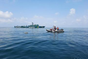 SBS: Attempt made to violate Azerbaijani border in the Caspian Sea, warning shot was fired