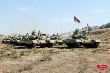 В Лачине стартовали командно-штабные учения Азербайджанской Армии