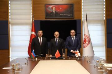 В Анкаре состоялась трехсторонняя встреча председателей комитетов по внешним связям парламентов Азербайджана, Турции и Грузии