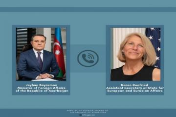 """Assistant Secretary of State: """"United States is ready to provide support regarding normalization of Armenia-Azerbaijan relations"""""""