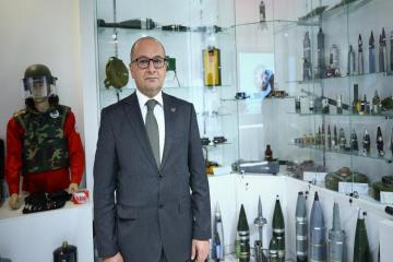 """Head of ANAMA: """"More than 48.000 mines and UXO were found in liberated territories so far"""""""