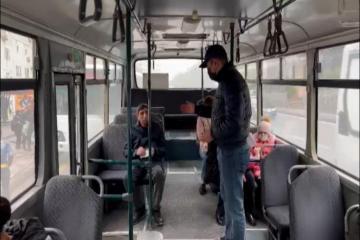 МВД: На общественном транспорте и в закрытых помещениях контроль усилен, к этой работе привлечены гражданские полицейские -[color=red]ВИДЕО[/color]