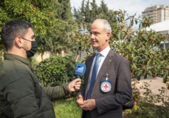 Вице-президент МККК: Мы тесно сотрудничаем с Государственной комиссией для поддержки семей пропавших без вести