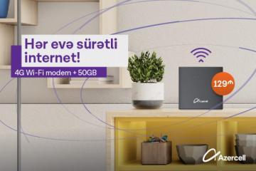 """""""Azercell""""dən yeni Wi-Fi kampaniyası"""