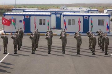 Turkey's Victory Day celebrated at Joint Monitoring Center in Aghdam