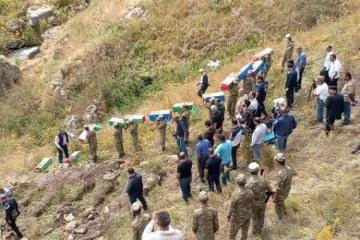 Remains of 12 residents of Kalbajar's Bashlibel identified, they laid to rest in separate graves in previous place