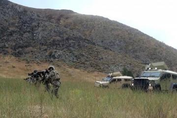 Joint Azerbaijani-Turkish exercises continue in the Lachin region - [color=red]VIDEO[/color]
