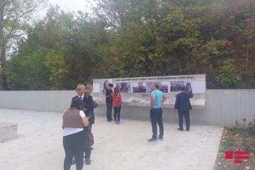 Журналисты из Шуши посетили музей-мавзолейный комплекс Моллы Панаха Вагифа – [color=red]ФОТО[/color]