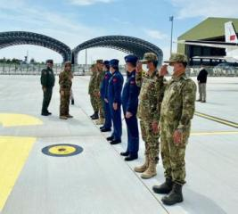 Azerbaijan's Defense Minister leaves for a visit to Turkey