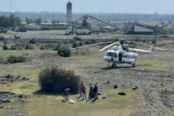 Авиационный отряд МЧС привлечен в районы, пострадавшие в результате интенсивных дождей