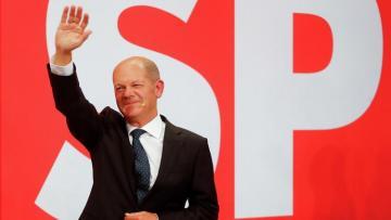Социал-демократы выиграли выборы в бундестаг