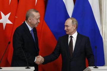 Situation in South Caucasus to be also discussed in Putin-Erdogan meeting tomorrow, says Kremlin