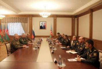 The Minister of Defense met with the Commander of the Russian peacekeeping forces