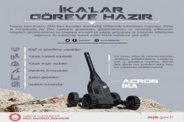 Unmanned Ground Transport System given to use of Turkish Army